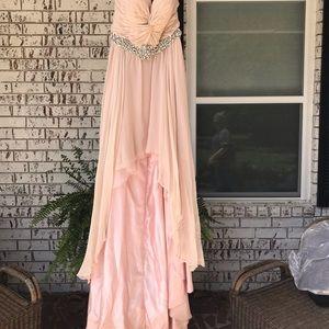 JOVANI high/low formal dress